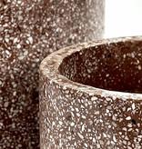 Serax Serax - Pot Terrazzo bruin Large