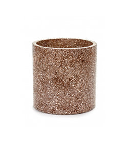 Serax Pot Terrazzo bruin Large