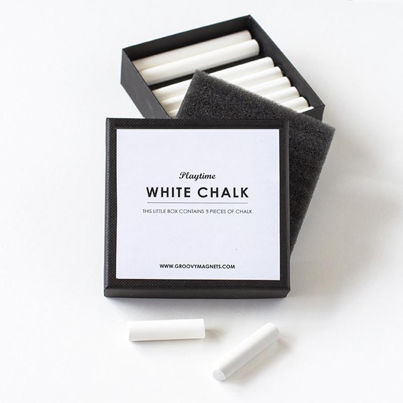 Groovy Magnets Craies - Blanc