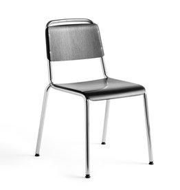 HAY Halftime stoel - chrome onderstel