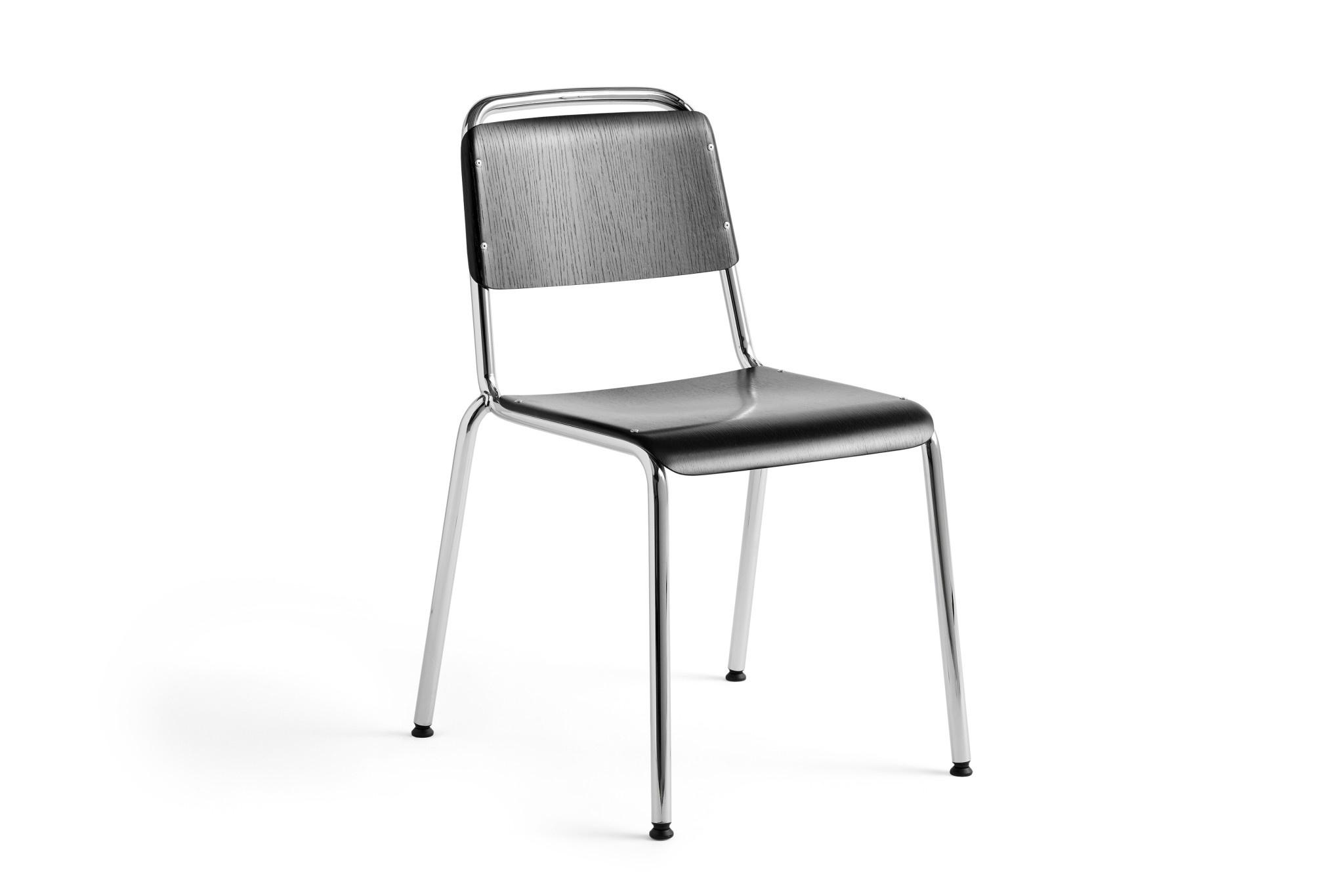 HAY Halftime stoel - chrome onderstel - HAY