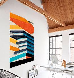 IXXI Ghent 17 - Wanddecoratie -Bo Lundberg