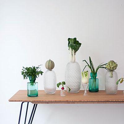 Fest Amsterdam Felix Dark Green Vase