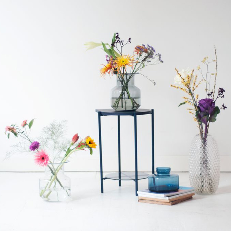 Fest Amsterdam Boris Dark Blue Vase