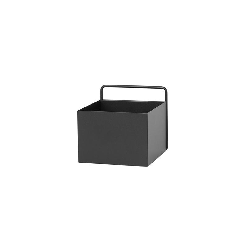 Fermliving Wall box - square noir
