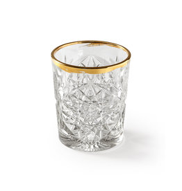 Libbey Glas n°1 Hobstar Gold 350ml