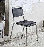 HAY Halftime chair - chromed steel frame