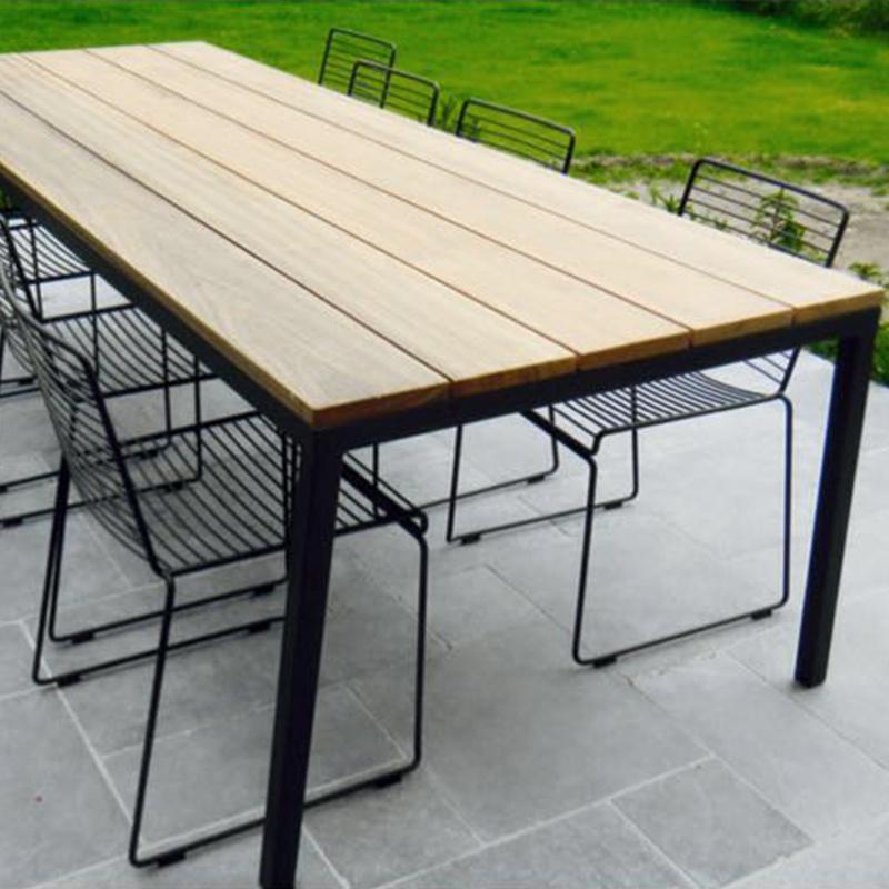 Opsmuk modèle de stock Table Outdoor (noir) Petit