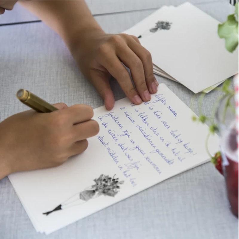 helen b Papier à lettre Flower Girl