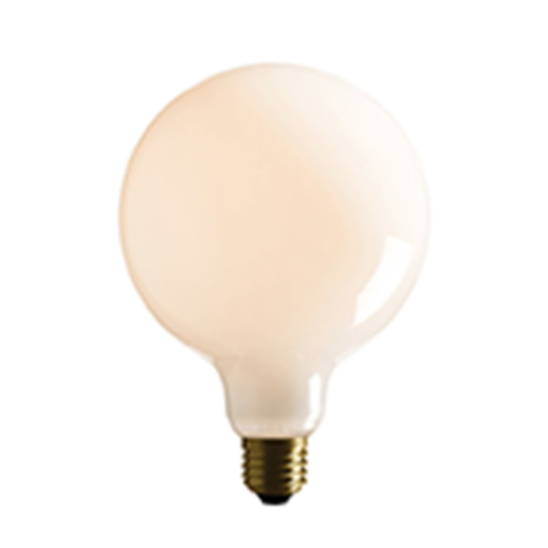 Edgar LED Bulb G125 Opaque Spherical