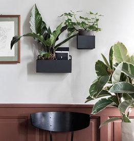 Fermliving Wall plant box - rechthoek zwart