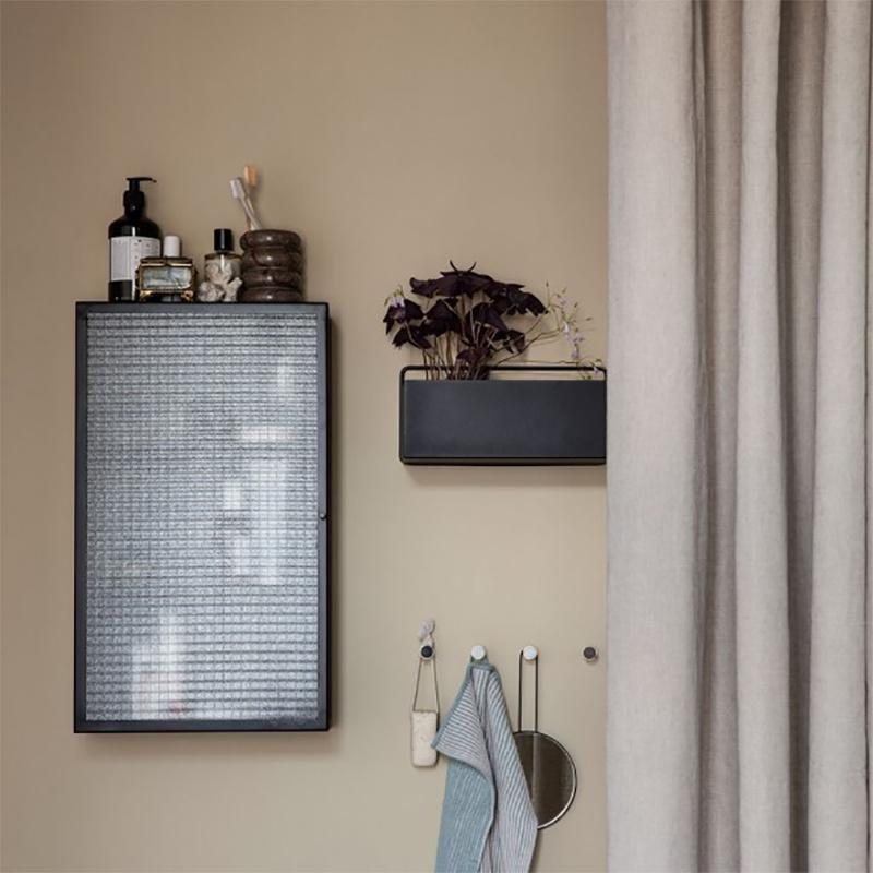 Fermliving Wall box - rectangle zwart