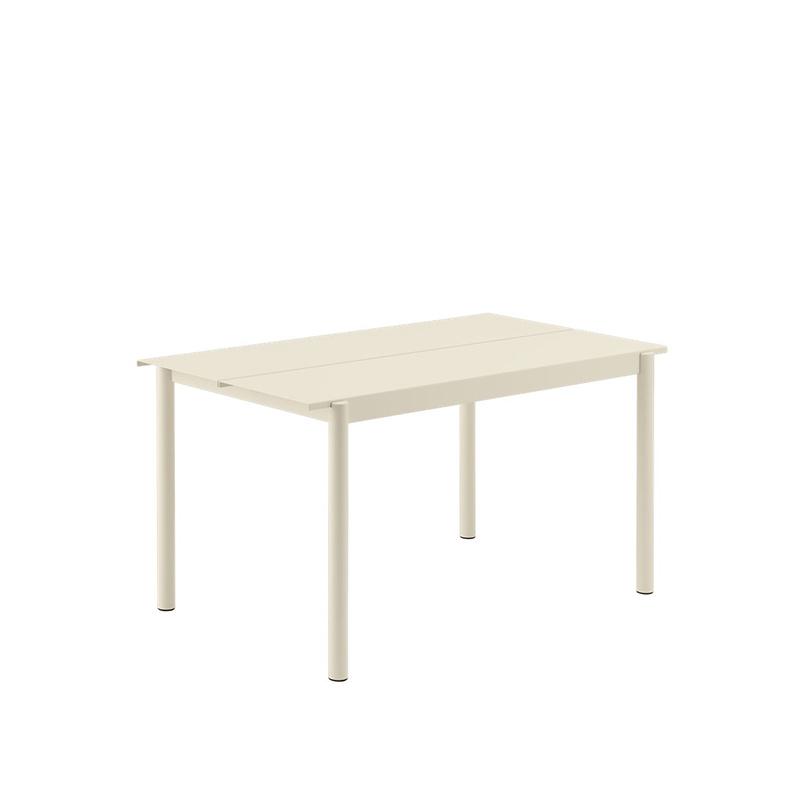 Muuto Modèle d'exposition blanche linear table
