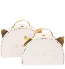 Meri Meri Set de valises (2) chat