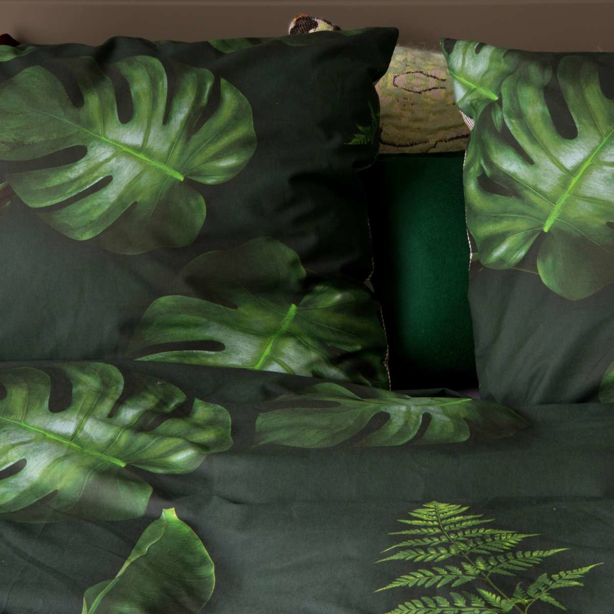 SNURK beddengoed Housse de couette Green forest 2p