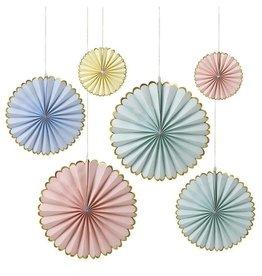 Meri Meri Moulinet papier Pastel (6 pièces)