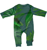 SNURK beddengoed Jumpsuit baby green forest