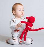 SNURK beddengoed Jumpsuit Teddy & Chimp