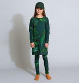 SNURK beddengoed Sweater dress kids green forest