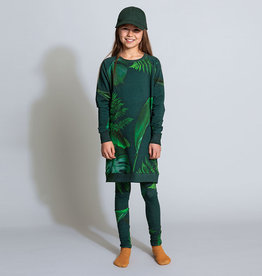 SNURK beddengoed Sweater dress kids green forest