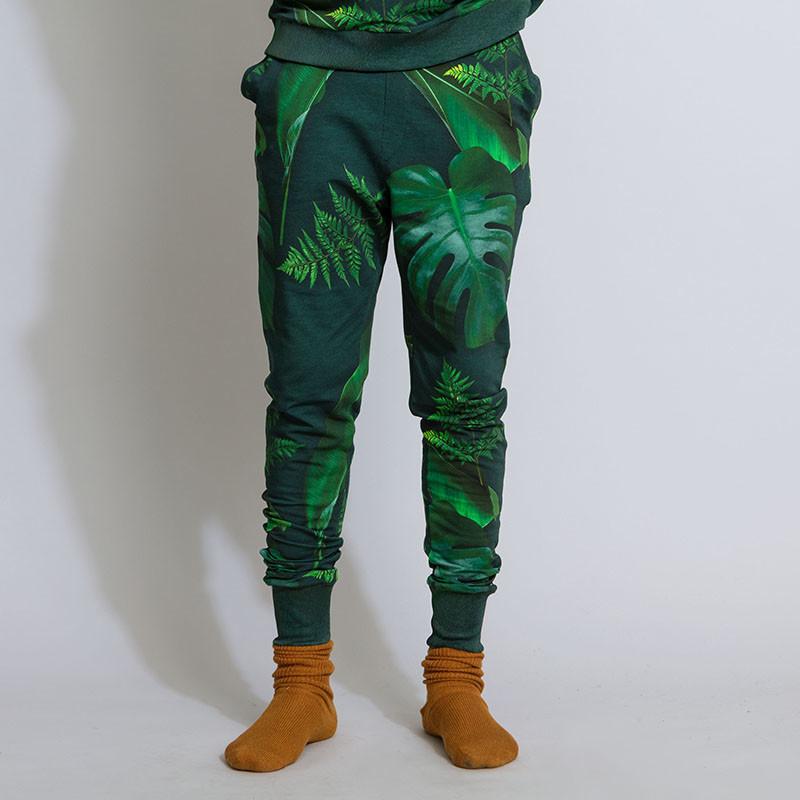 SNURK beddengoed Pantalon hommes green forest