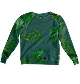 SNURK beddengoed Sweater women green forest