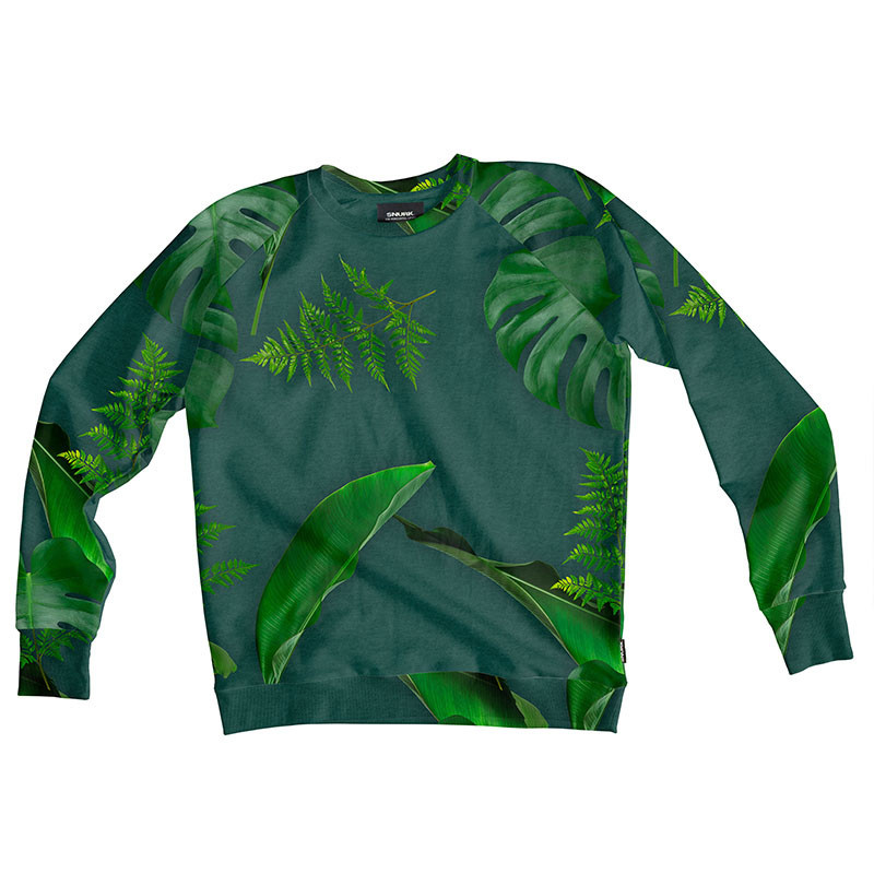 SNURK beddengoed Sweater men green forest