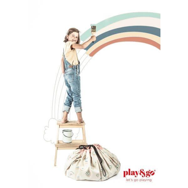 Play&Go Arc en ciel sac de rangement - tapis