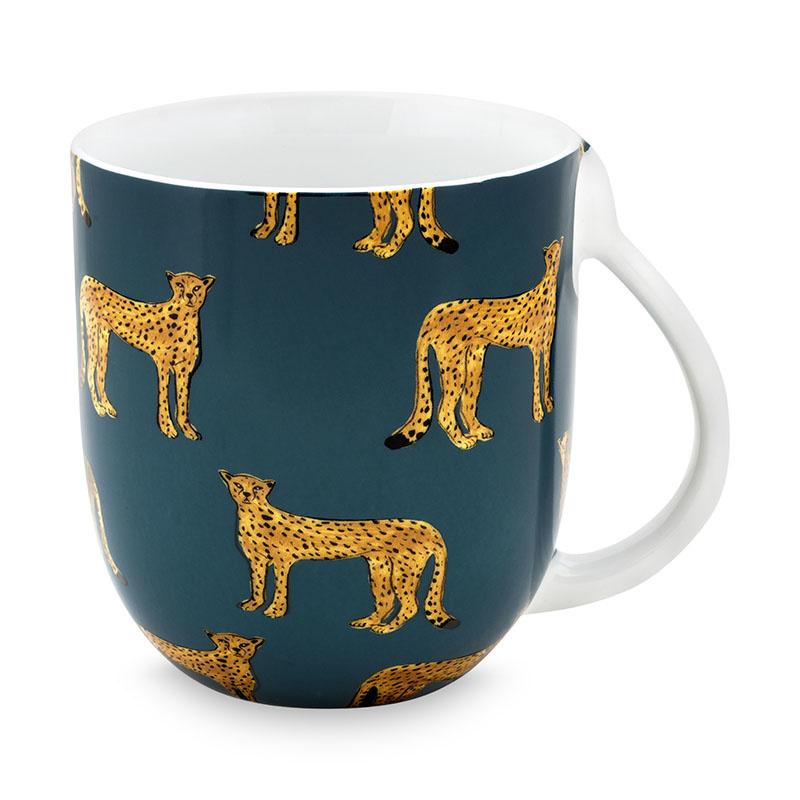 Fabienne Chapot Set van 2 drinktassen Cheetah 400ml