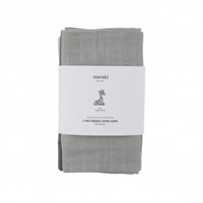 Meraki chiffons pour le bébé en coton bio Meraki Mini 3-pack