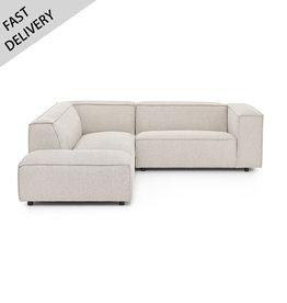 Fest Amsterdam Sofa Dunbar 1.5 seat + longchair Polvere 21 beige