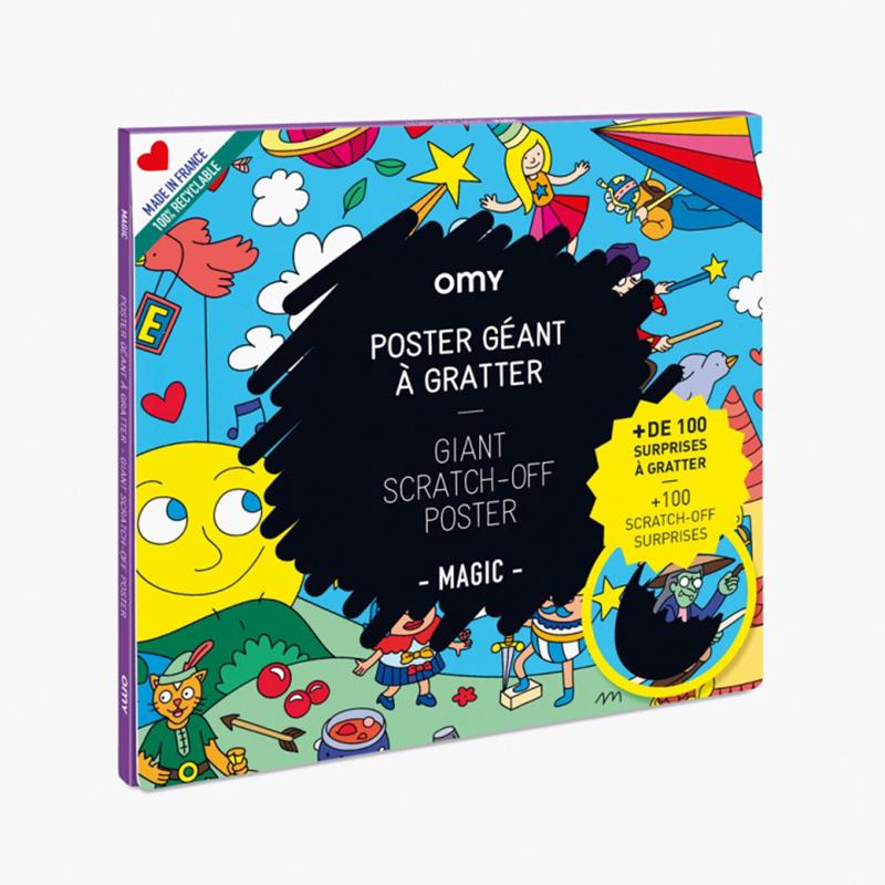 OMY OMY-Scratch poster Magic