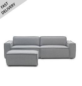 Fest Amsterdam Edge sofa 3 places avec pouf (fast delivery)