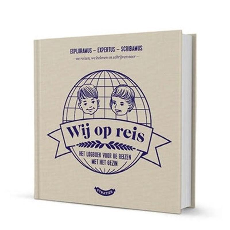 Stratier Logboek & fotoalbum Wij op reis