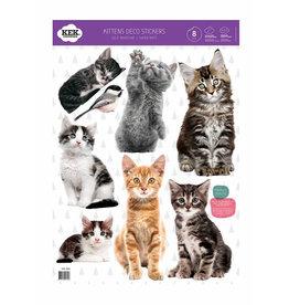 KEK Amsterdam stickers Petit chats Set van 8
