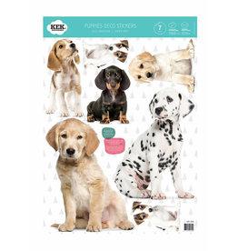 KEK Amsterdam Stickers Puppies ensemble de 7