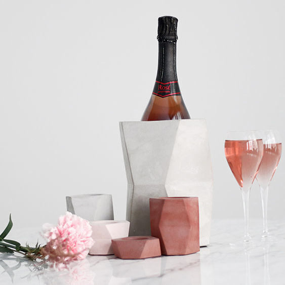 Atelier Pierre Facet Wijnkoeler - 15 x 20 cm