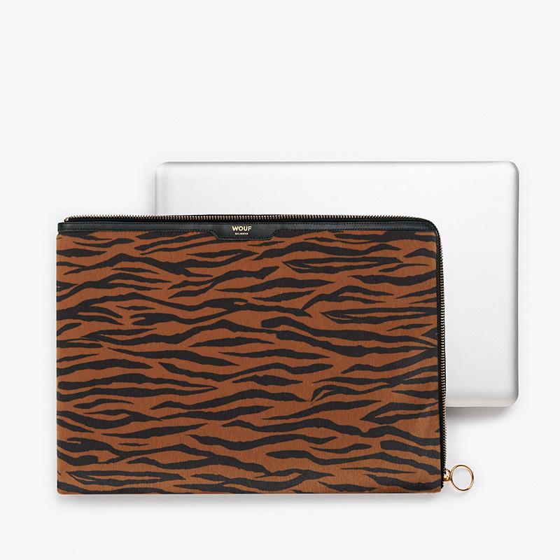 """Wouf Laptoptas 13"""" Tiger"""