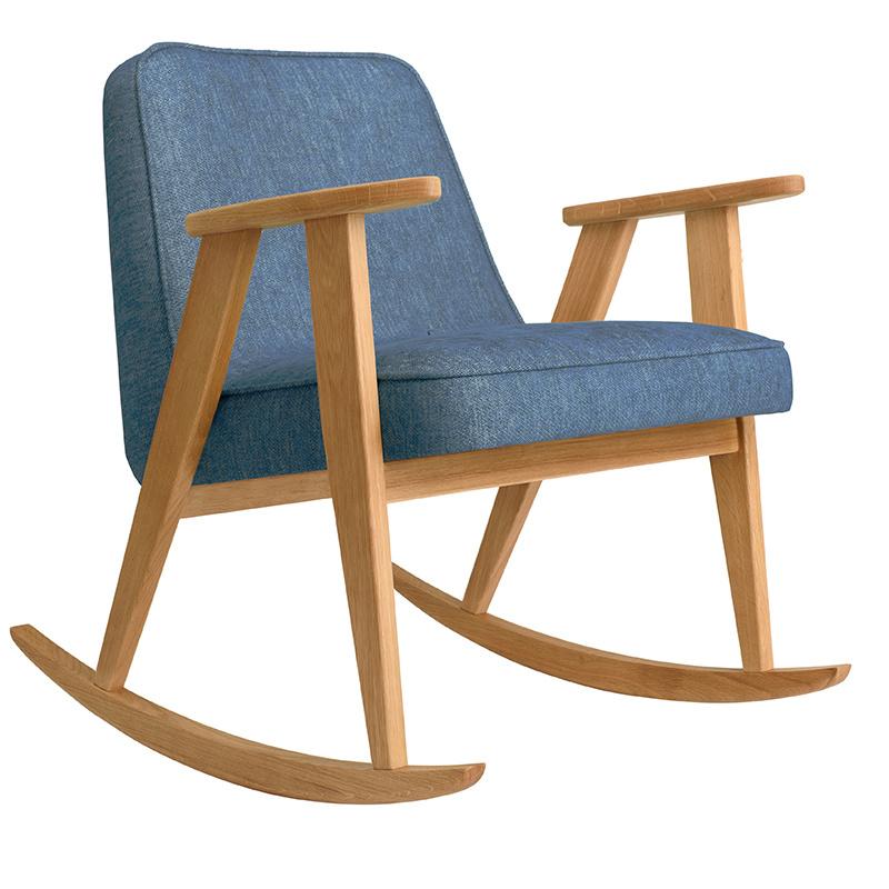 366 Concept 366 Rocking chair Loft - Sur les photos vous voyez le chêne foncé!
