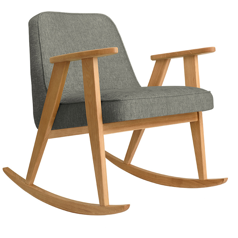 366 Concept 366 Rocking chair Loft - Hout in foto's is donkere eik!