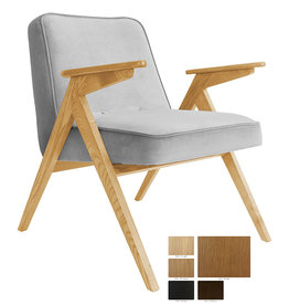 366 Concept 366 Bunny armchair Velvet