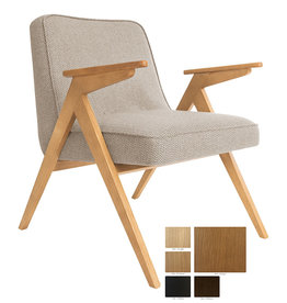 366 Concept 366 Bunny armchair Tweed