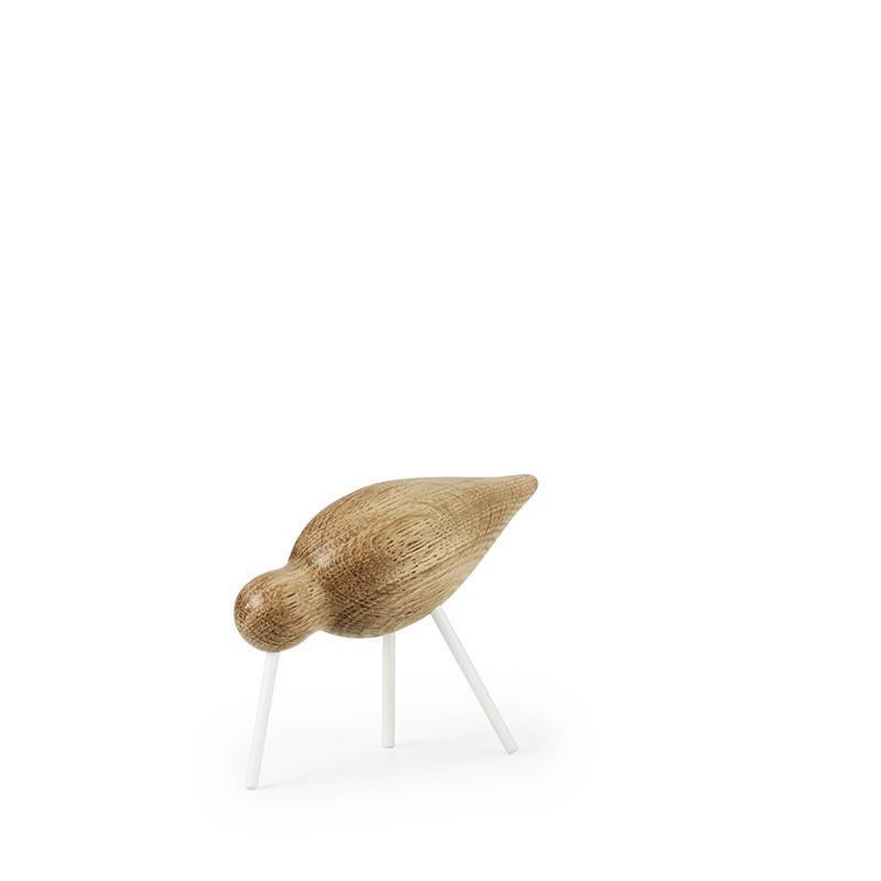 Normann Copenhagen Shorebird eikenhout wit