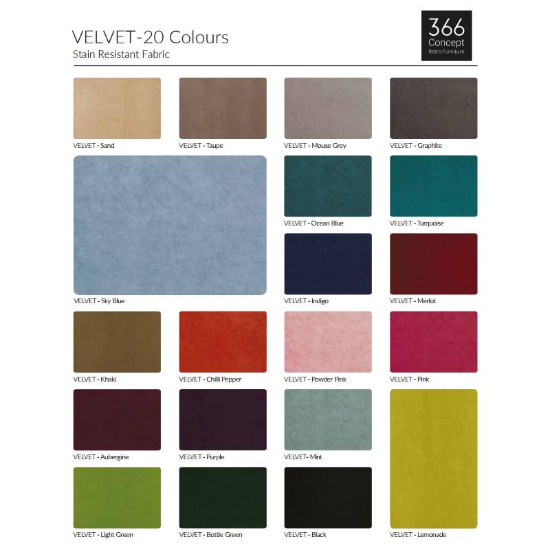 366 Concept 366 Metal Armchair velvet