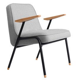 366 Concept 366 Metal Armchair tweed