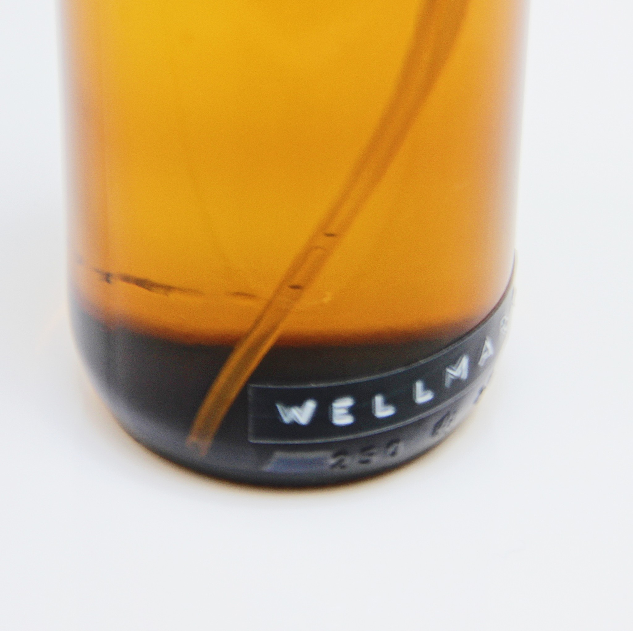 Wellmark Handzeep in glas - zwart - may all your troubles be bubbles - 500 ml