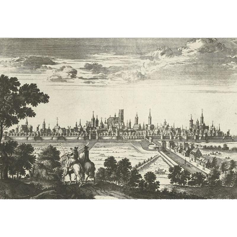 IXXI Gezicht op Gent 1726 - Rijksmuseum
