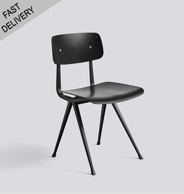 HAY Result chair FAST TRACK (zwart)