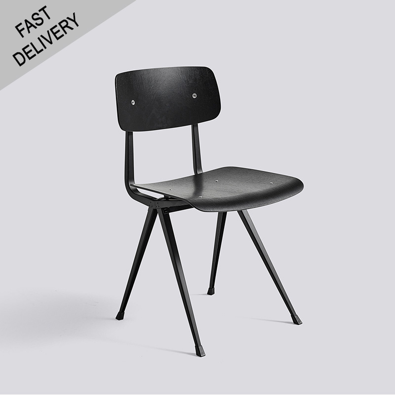 HAY Result chair FAST TRACK (zwart)