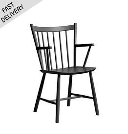 HAY J 42 chair FAST TRACK (zwart)